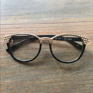 Other - Black and gold sunglasses